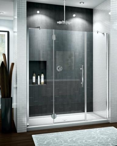 Platinum Trio In-Line Pivot Door shower height