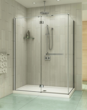 Pura 2 Sided Pivot Door shower height