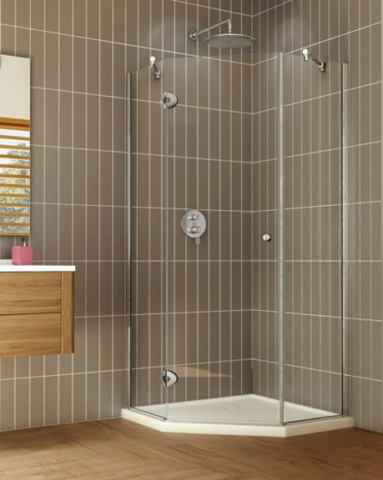 Pura Neo Pivot Door shower height