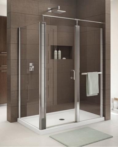 Sevilla 2 Sided Pivot Door shower height