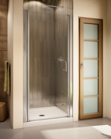 Sevilla 64/70 Single Pivot Door shower height