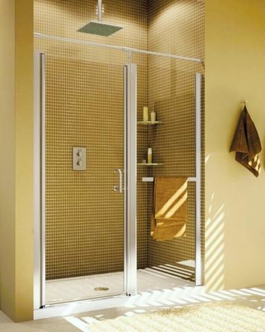 Sevilla In-Line Pivot Door shower height