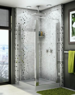 Sevilla Square Pivot Door shower height