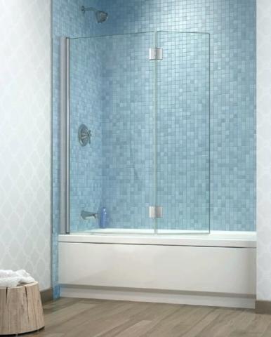 Siena Duo Tub Shield tub shower door