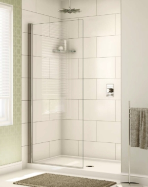 Siena Solo Shower Shield shower height