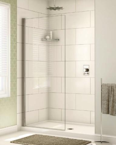 Siena Solo Shower Shield shower height