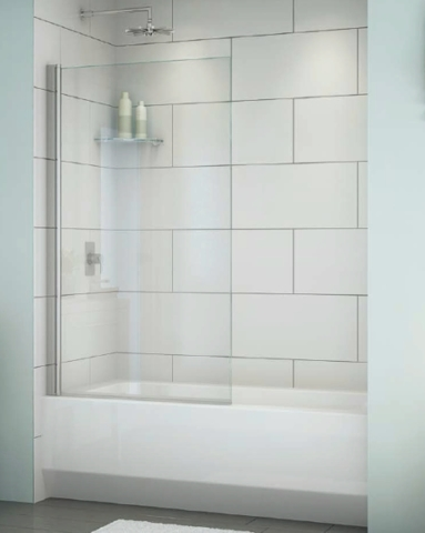 Siena Solo Tub Panel shower door