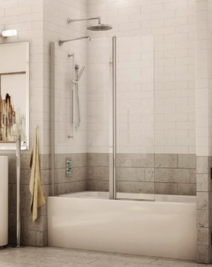 Siena Tub Shield shower door