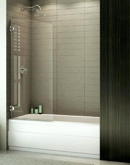 Solo Tub Panel shower door