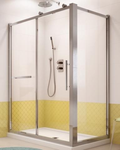Sorrento 2 Sided Slider shower height door