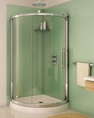 Sorrento Arc Slider shower height door
