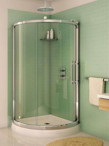 Sorrento Arc Slider shower height door