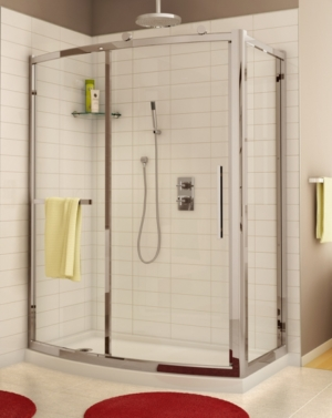 Sorrento Bowfront 2 Sided Slider shower height door