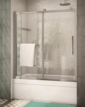 Sorrento In-Line Tub Slider shower door