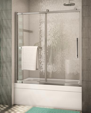 Sorrento In-Line Tub Slider shower door