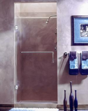 AG90 Frameless Single Door