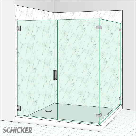 All Glass Shower Doors Schicker Luxury Shower Doors Concord Ca