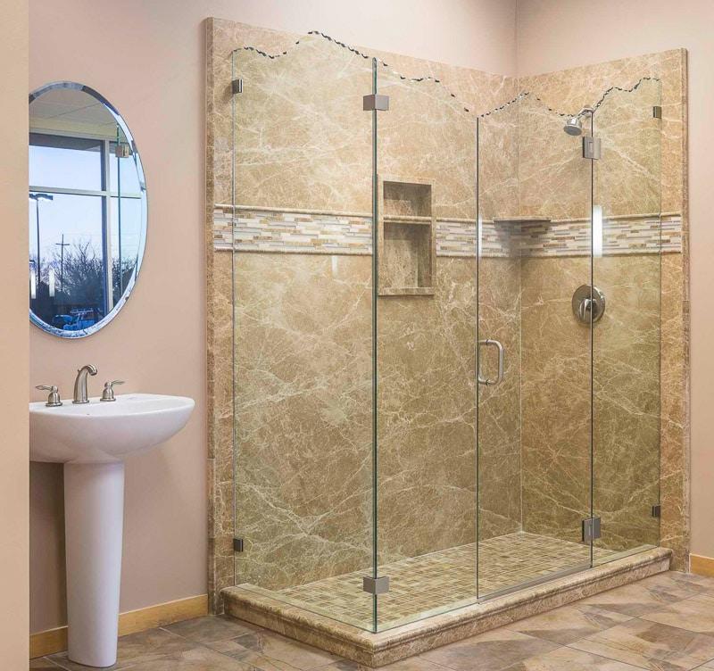 All Glass Shower Doors | Schicker Luxury Shower Doors | Concord, CA ...
