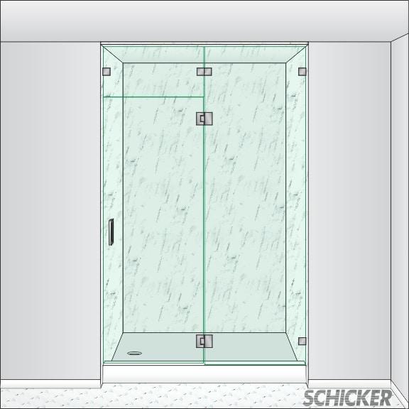 Door Transom Panel Amp Left 3 6 X 6 8 Classic Craftsman 3
