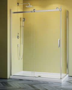 Fleurco 2 sided shower enclosure