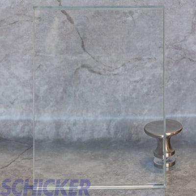 "1/2"" CRYSTAL CLEAR GLASS SAMPLE"