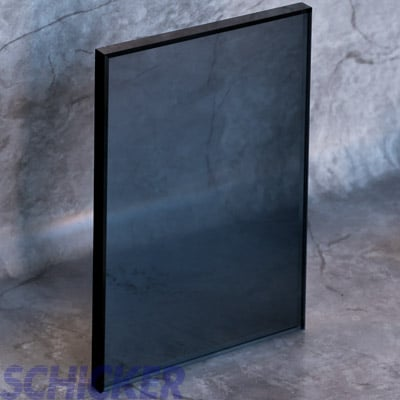 "1/2"" GRAY GLASS SAMPLE"