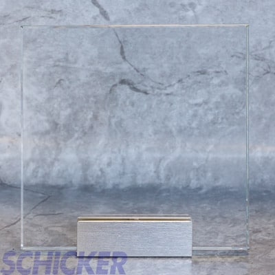 "1/4"" CRYSTAL CLEAR GLASS SAMPLE"