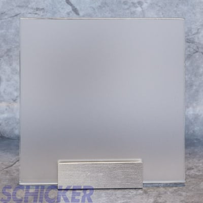 "1/4"" LOW IRON SATIN GLASS SAMPLE"