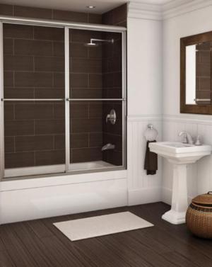 Alumax 640D Shower Door Framed Slider