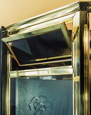 Brass Frame Operable Transom