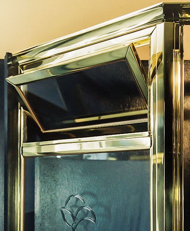 Brass Framed Shower Enclosures Image Gallery Schicker