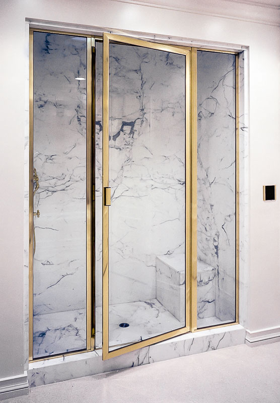 Brass Framed Shower Enclosures Image Gallery Schicker