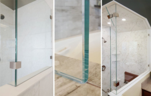 all glass frameless installation