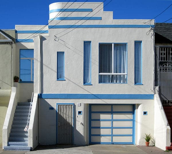 art deco home in san francisco