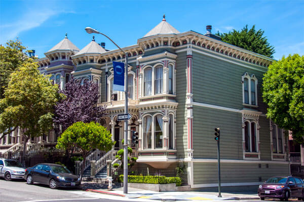 edwardian home in san francisco