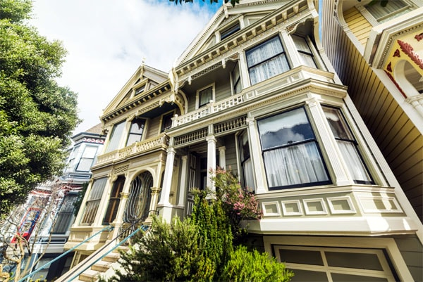 san francisco queen anne victorian home