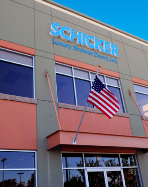 Schicker Luxury Shower Doors in Concord