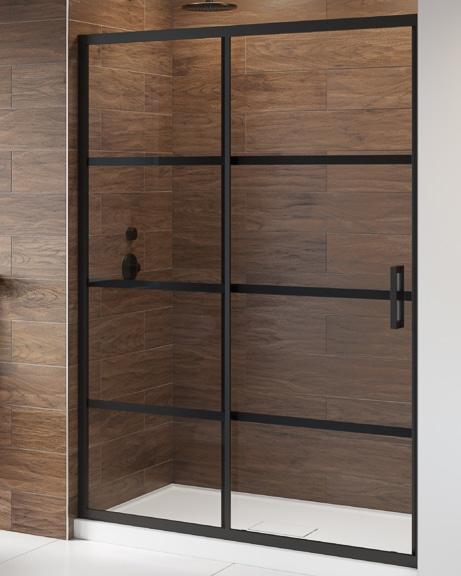 Latitude In-line shower door