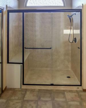 Alumax Shower Door 354D Oil Rubbed Bronze