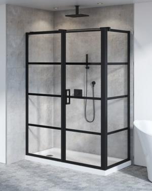 Fleurco Latitude Series 2-Sided Pivot Door