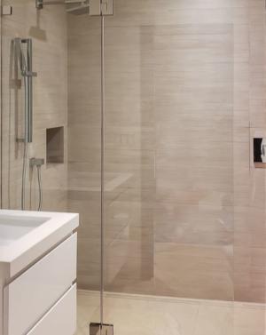Schicker AG51 Frameless Shower Screen Enclosure