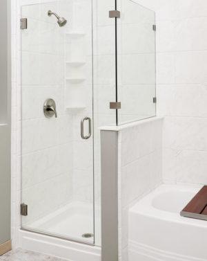 Schicker AG93 2-Sided Shower Enclosure