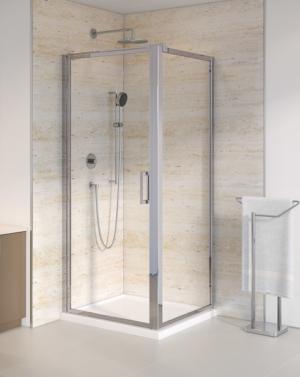Fleurco Elera Cube Framed Pivot Shower Enclosure