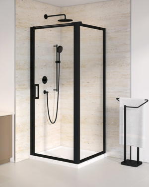 Fleurco Elera Cube Framed Pivot Shower Door