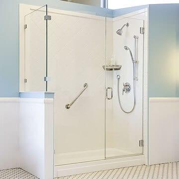 schicker all glass frameless shower door enclosures