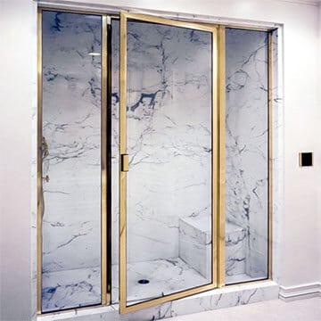 brass shower frame enclosures