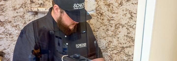 schicker shower doors installation