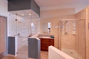 schicker luxury shower doors showroom models