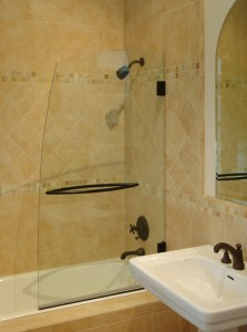 AG40 Monterey Oil Rubbed Bronze,  Clear Glass, Towel Bar