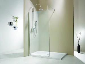 Evolution 6' Two Wall Single Panel Walk-In Shower